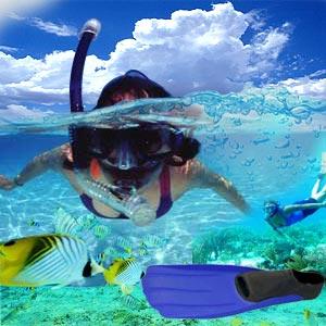 Snorkeling heaven !